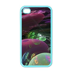 Creation Of The Rainbow Galaxy, Abstract Apple Iphone 4 Case (color)