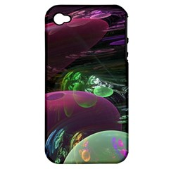 Creation Of The Rainbow Galaxy, Abstract Apple iPhone 4/4S Hardshell Case (PC+Silicone)