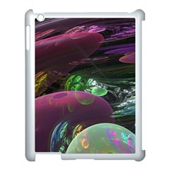 Creation Of The Rainbow Galaxy, Abstract Apple iPad 3/4 Case (White)