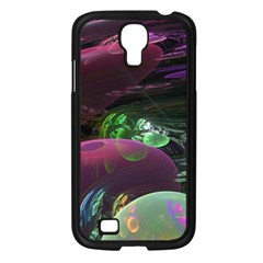 Creation Of The Rainbow Galaxy, Abstract Samsung Galaxy S4 I9500/ I9505 Case (Black)