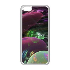 Creation Of The Rainbow Galaxy, Abstract Apple iPhone 5C Seamless Case (White)