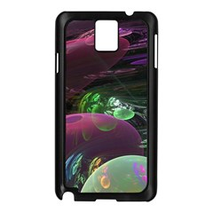 Creation Of The Rainbow Galaxy, Abstract Samsung Galaxy Note 3 N9005 Case (black)