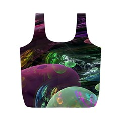 Creation Of The Rainbow Galaxy, Abstract Reusable Bag (M)