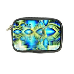 Crystal Lime Turquoise Heart Of Love, Abstract Coin Purse