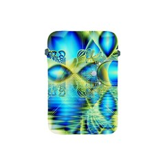 Crystal Lime Turquoise Heart Of Love, Abstract Apple iPad Mini Protective Sleeve