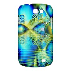 Crystal Lime Turquoise Heart Of Love, Abstract Samsung Galaxy Express Hardshell Case