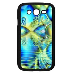 Crystal Lime Turquoise Heart Of Love, Abstract Samsung Galaxy Grand DUOS I9082 Case (Black)