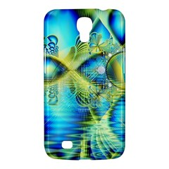 Crystal Lime Turquoise Heart Of Love, Abstract Samsung Galaxy Mega 6.3  I9200 Hardshell Case