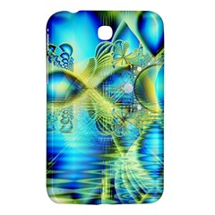 Crystal Lime Turquoise Heart Of Love, Abstract Samsung Galaxy Tab 3 (7 ) P3200 Hardshell Case