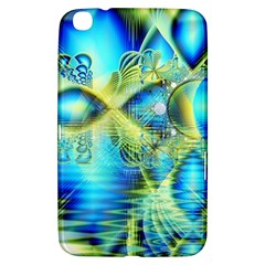 Crystal Lime Turquoise Heart Of Love, Abstract Samsung Galaxy Tab 3 (8 ) T3100 Hardshell Case