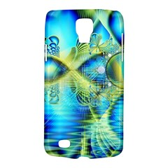 Crystal Lime Turquoise Heart Of Love, Abstract Samsung Galaxy S4 Active (I9295) Hardshell Case