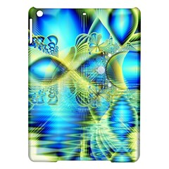 Crystal Lime Turquoise Heart Of Love, Abstract Apple Ipad Air Hardshell Case