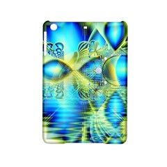 Crystal Lime Turquoise Heart Of Love, Abstract Apple Ipad Mini 2 Hardshell Case