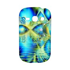 Crystal Lime Turquoise Heart Of Love, Abstract Samsung Galaxy S6810 Hardshell Case
