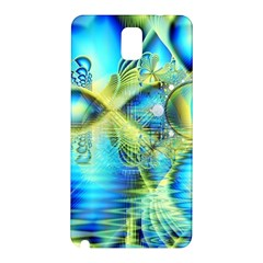 Crystal Lime Turquoise Heart Of Love, Abstract Samsung Galaxy Note 3 N9005 Hardshell Back Case