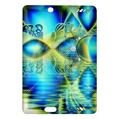 Crystal Lime Turquoise Heart Of Love, Abstract Kindle Fire HD 7  (2nd Gen) Hardshell Case