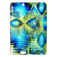 Crystal Lime Turquoise Heart Of Love, Abstract Kindle Fire HDX 7  Hardshell Case