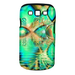 Golden Teal Peacock, Abstract Copper Crystal Samsung Galaxy S Iii Classic Hardshell Case (pc+silicone)