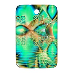 Golden Teal Peacock, Abstract Copper Crystal Samsung Galaxy Note 8 0 N5100 Hardshell Case