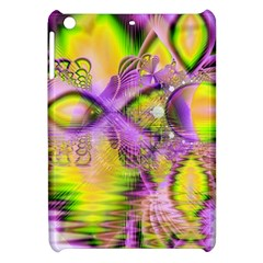 Golden Violet Crystal Heart Of Fire, Abstract Apple iPad Mini Hardshell Case