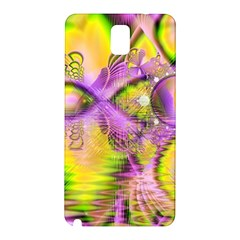 Golden Violet Crystal Heart Of Fire, Abstract Samsung Galaxy Note 3 N9005 Hardshell Back Case