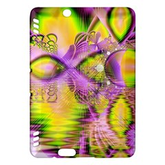 Golden Violet Crystal Heart Of Fire, Abstract Kindle Fire HDX 7  Hardshell Case