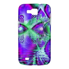 Violet Peacock Feathers, Abstract Crystal Mint Green Samsung Galaxy Premier I9260 Hardshell Case