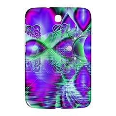 Violet Peacock Feathers, Abstract Crystal Mint Green Samsung Galaxy Note 8.0 N5100 Hardshell Case