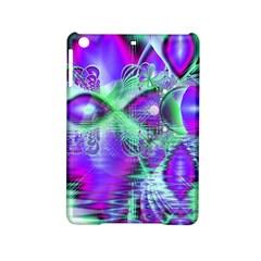 Violet Peacock Feathers, Abstract Crystal Mint Green Apple Ipad Mini 2 Hardshell Case