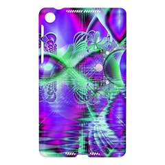 Violet Peacock Feathers, Abstract Crystal Mint Green Google Nexus 7 (2013) Hardshell Case