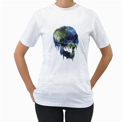 Mother Is Dying Women s T-Shirt (White)