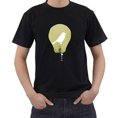 Ideas Take Flight Men s T-shirt (Black)