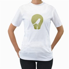 Ideas Take Flight Women s T Shirt (white)