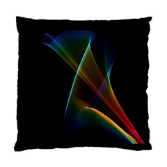 Abstract Rainbow Lily, Colorful Mystical Flower  Cushion Case (Single Sided)