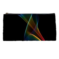 Abstract Rainbow Lily, Colorful Mystical Flower  Pencil Case
