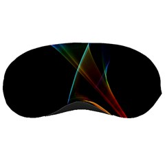 Abstract Rainbow Lily, Colorful Mystical Flower  Sleeping Mask