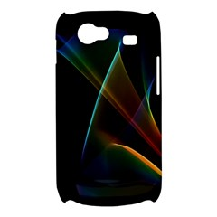 Abstract Rainbow Lily, Colorful Mystical Flower  Samsung Galaxy Nexus S i9020 Hardshell Case