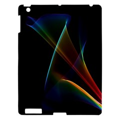 Abstract Rainbow Lily, Colorful Mystical Flower  Apple Ipad 3/4 Hardshell Case