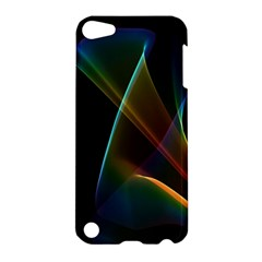 Abstract Rainbow Lily, Colorful Mystical Flower  Apple iPod Touch 5 Hardshell Case