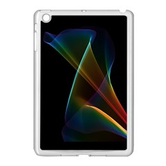 Abstract Rainbow Lily, Colorful Mystical Flower  Apple Ipad Mini Case (white)