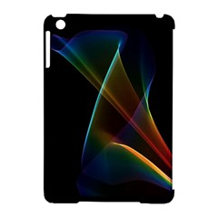 Abstract Rainbow Lily, Colorful Mystical Flower  Apple iPad Mini Hardshell Case (Compatible with Smart Cover)