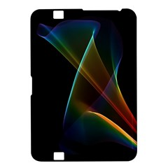Abstract Rainbow Lily, Colorful Mystical Flower  Kindle Fire HD 8.9  Hardshell Case