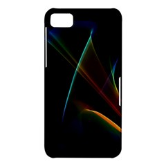 Abstract Rainbow Lily, Colorful Mystical Flower  BlackBerry Z10 Hardshell Case
