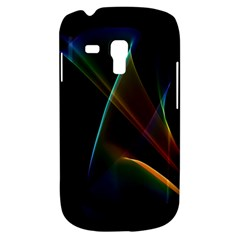 Abstract Rainbow Lily, Colorful Mystical Flower  Samsung Galaxy S3 MINI I8190 Hardshell Case