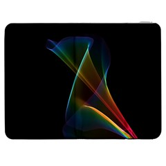 Abstract Rainbow Lily, Colorful Mystical Flower  Samsung Galaxy Tab 7  P1000 Flip Case