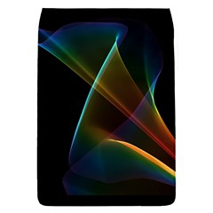 Abstract Rainbow Lily, Colorful Mystical Flower  Removable Flap Cover (Small)