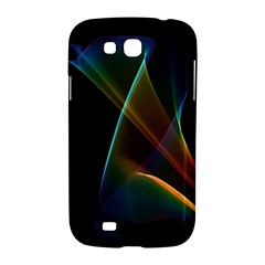 Abstract Rainbow Lily, Colorful Mystical Flower  Samsung Galaxy Grand GT-I9128 Hardshell Case