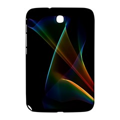 Abstract Rainbow Lily, Colorful Mystical Flower  Samsung Galaxy Note 8 0 N5100 Hardshell Case
