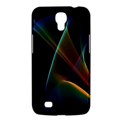 Abstract Rainbow Lily, Colorful Mystical Flower  Samsung Galaxy Mega 6.3  I9200 Hardshell Case