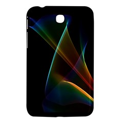 Abstract Rainbow Lily, Colorful Mystical Flower  Samsung Galaxy Tab 3 (7 ) P3200 Hardshell Case
